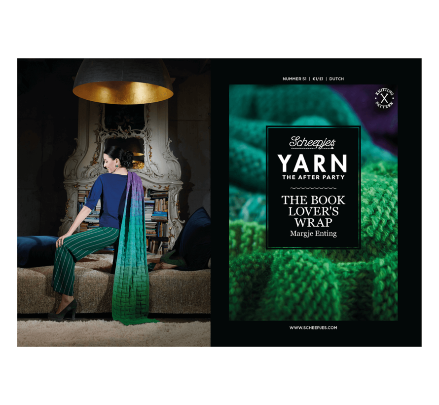 YARN the After Party NO. 51 The Book Lover's Wrap