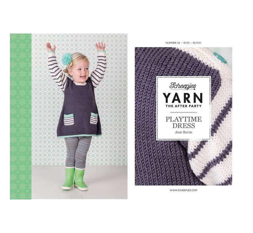 YARN the after party NO. 34 Playtime dress