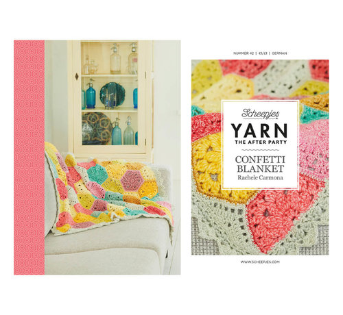 YARN the after party NO. 42 Confetti blanket