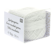 Rico Design Rico Design Lace Crochet Yarn - Kantgaren 001 Wit
