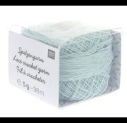 Rico Design Rico Design Lace Crochet Yarn - Kantgaren 005 Lichtblauw