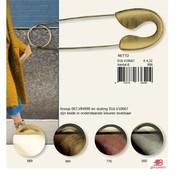 Restyle Kiltspeld met gekleurde sluiting 11,5cm