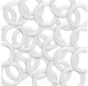 Huismerk Plastic Ringen maat 40mm
