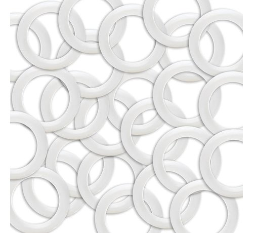 Plastic Ringen maat 40mm