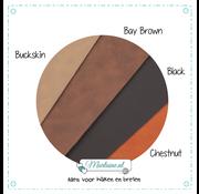 Marlaine Proefpakket Leren labels kleuren sample