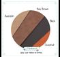 Proefpakket Leren labels kleuren sample