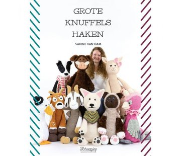 Uitgeverij Grote knuffels haken - Sabine van Dam