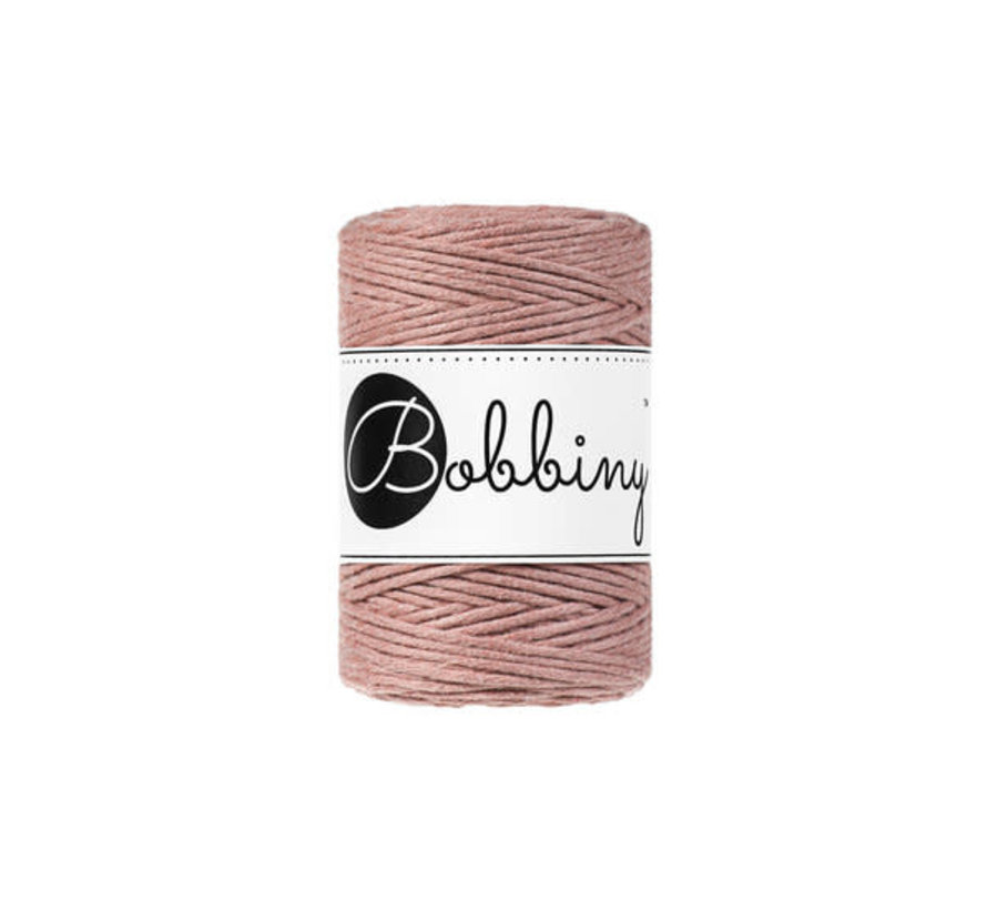 Bobbiny Macrame 1,5mm Blush