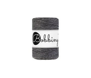 Bobbiny Bobbiny Macrame cord 1,5mm Charcoal