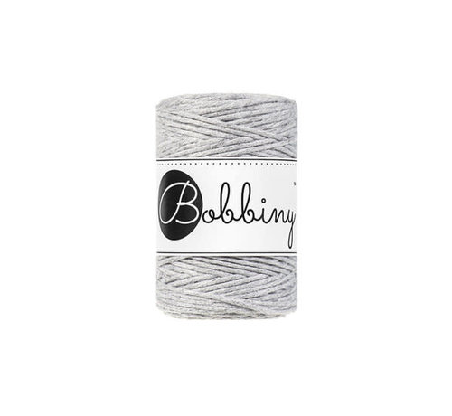 Bobbiny Bobbiny Macrame 1,5mm Light grey