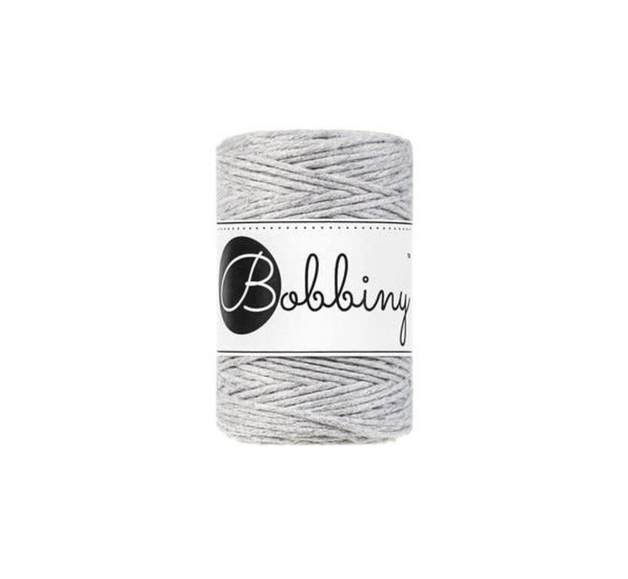 Bobbiny Macrame 1,5mm Light grey