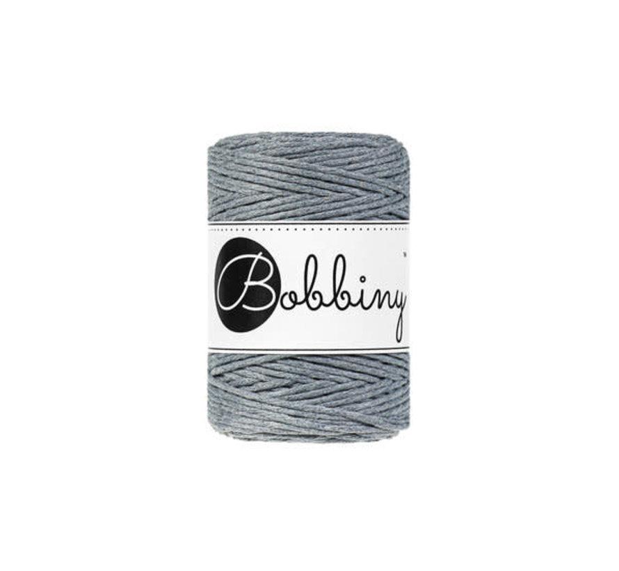 Bobbiny Macrame cord 1,5mm Raw denim