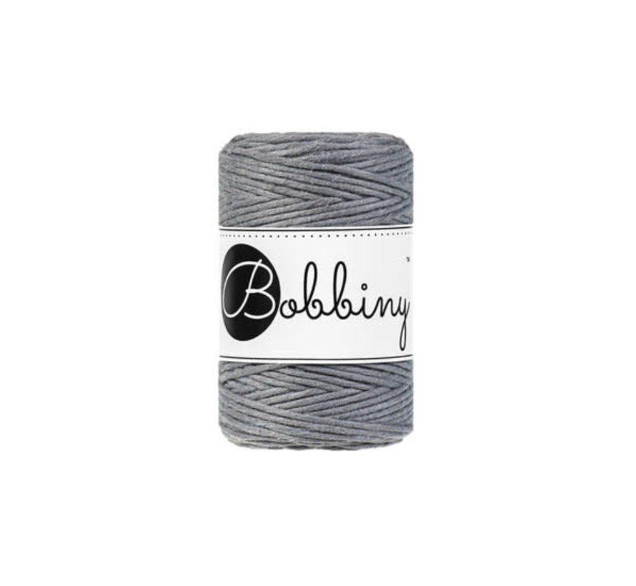 Bobbiny Macrame 1,5mm Steel