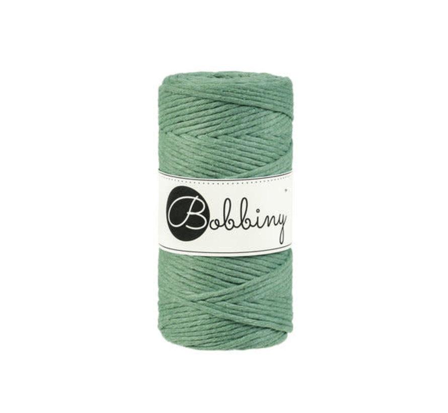 Bobbiny Macramé cord 3mm Eucalyptus Green