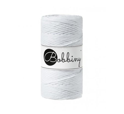 Bobbiny Bobbiny Macramé cord 3mm White