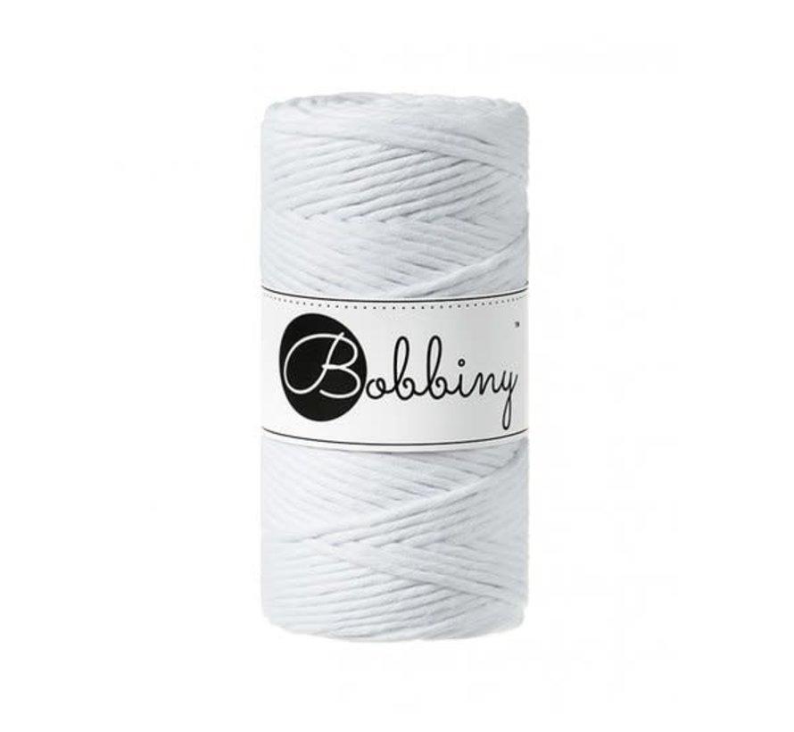 Bobbiny Macramé cord 3mm White