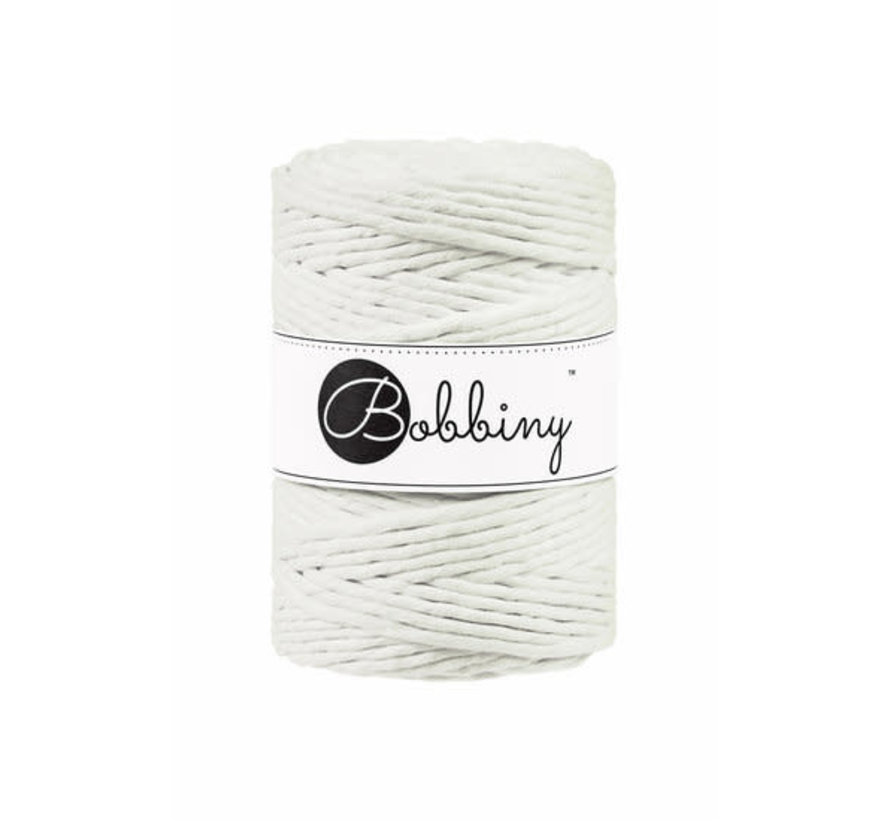 Bobbiny Macramé cord 5mm Natural