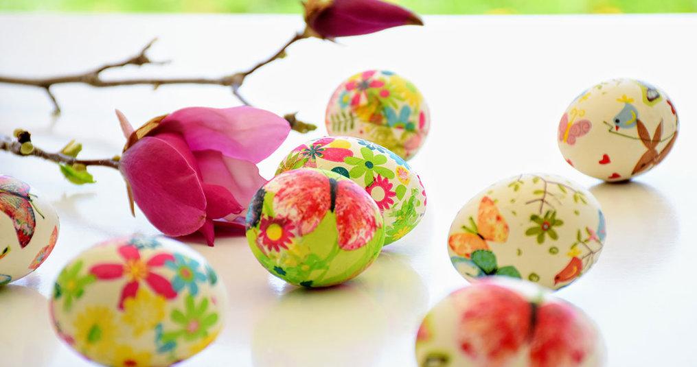 5 creatieve Paas-versieringen