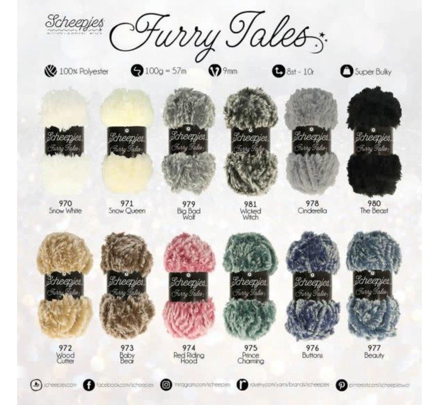 Scheepjes Furry Tales 977 Beauty