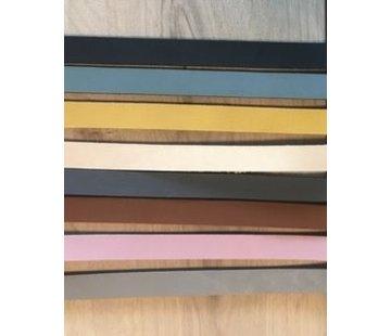 Huismerk Leren Tashengsel met schroefsluiting 100cm