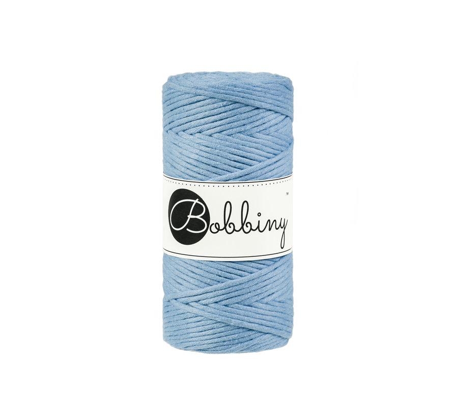 Bobbiny Macrame cord 3mm Baby blue