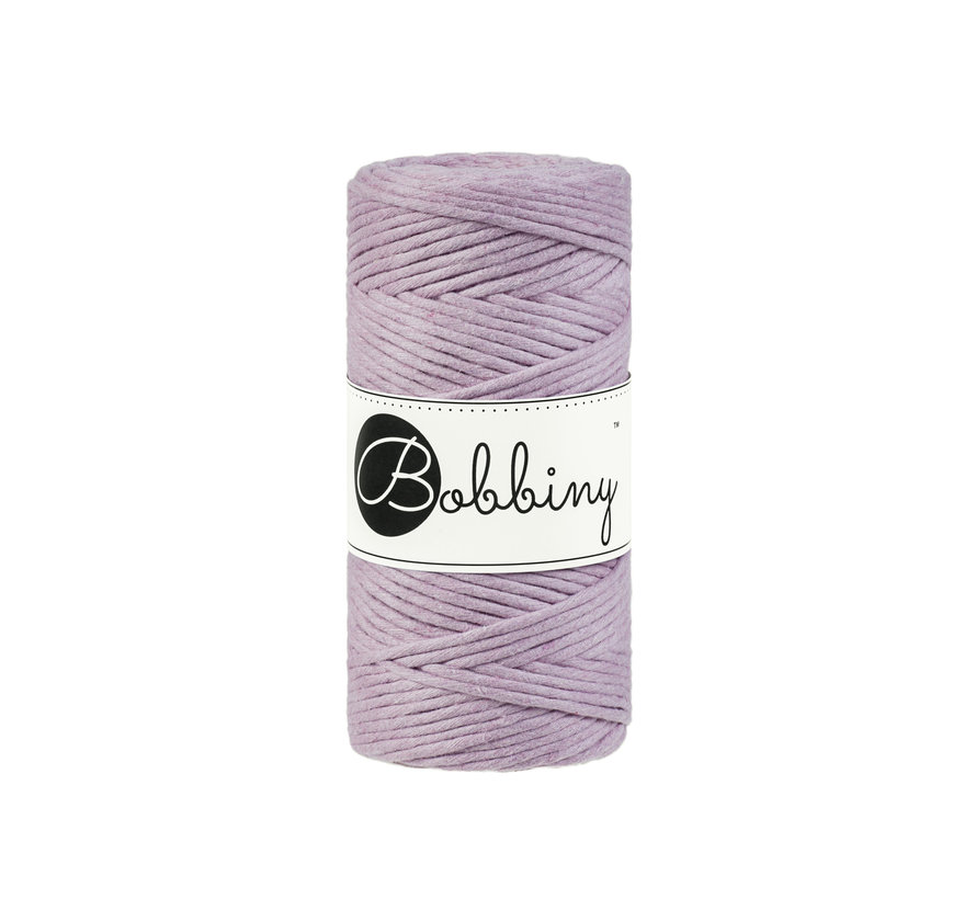 Bobbiny Macrame cord 3mm Dusty pink