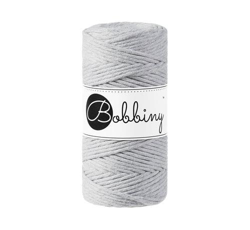 Bobbiny Bobbiny Macrame cord 3mm Light grey