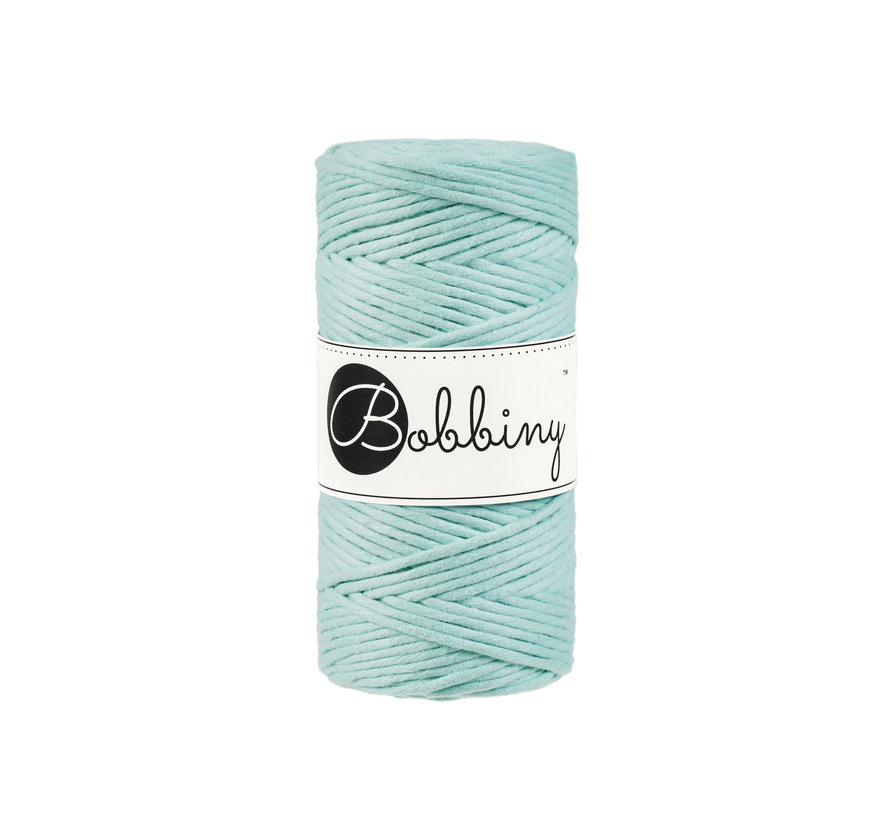 Bobbiny Macrame cord 3mm Mint