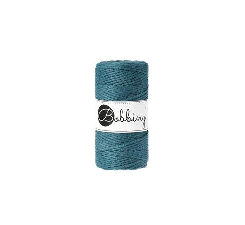Bobbiny Bobbiny Macrame cord 3mm Peacock blue