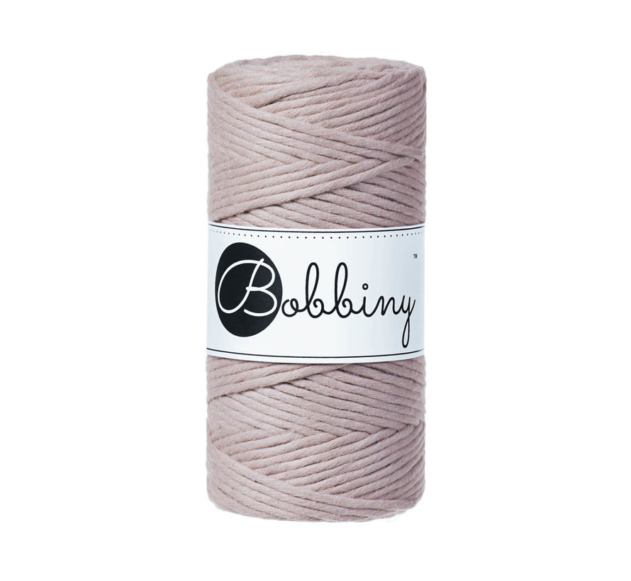 Bobbiny Macrame cord 3mm Pearl