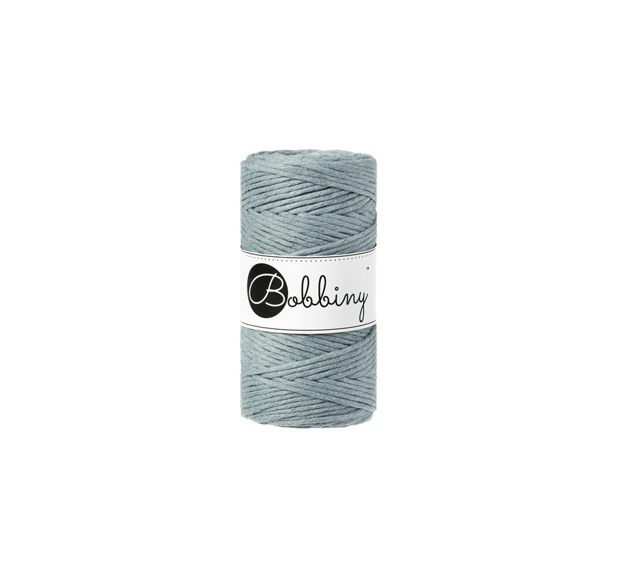 Bobbiny Macrame cord 3mm Raw denim