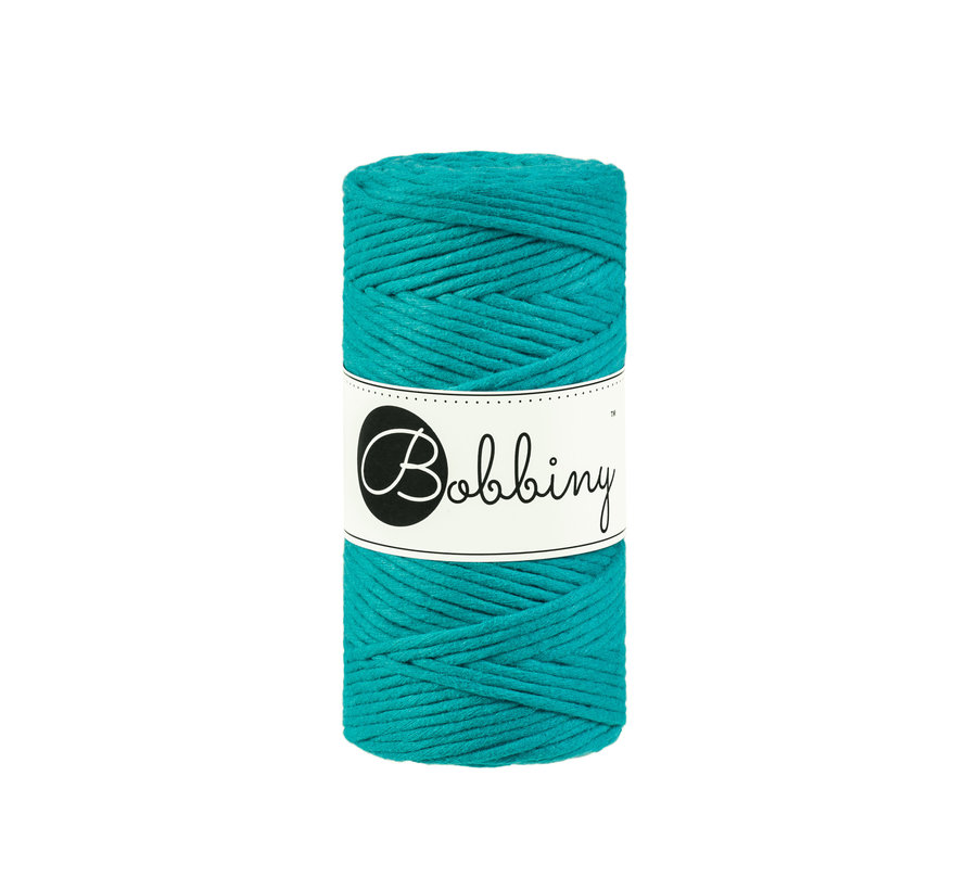 Bobbiny Macrame cord 3mm Wild mint
