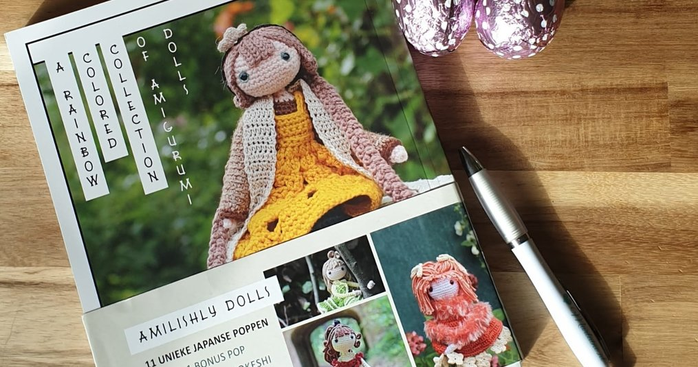 Amilishly Dolls - A Rainbow Colored Collection of Amigurumi Dolls - Alexa Boonstra | Marlaine's Boek reviews