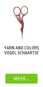 Yarn and Colors Vogelschaartje