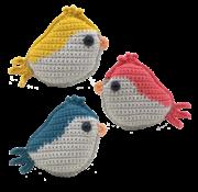 Hardicraft Hardicraft Haakpakket Vogeltje Rood