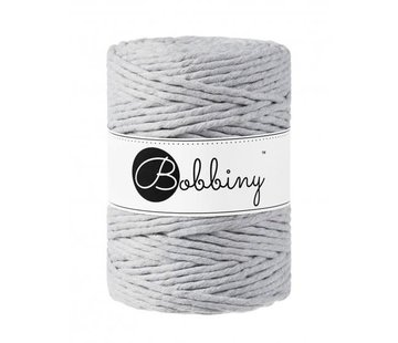 Bobbiny Bobbiny Macramé cord 5mm Light Grey
