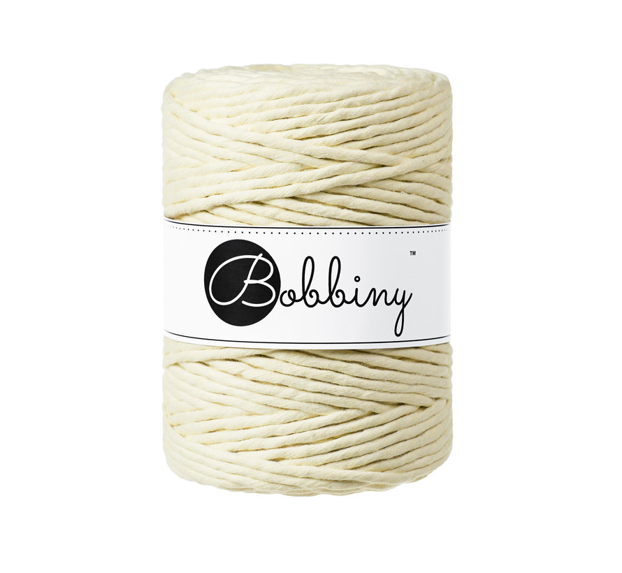 Bobbiny Macramé cord 5mm Blonde
