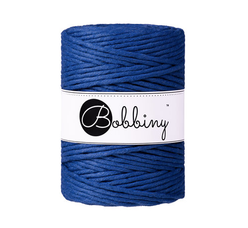 Bobbiny Bobbiny Macramé cord 5mm Classsic Blue (Limited Edition)