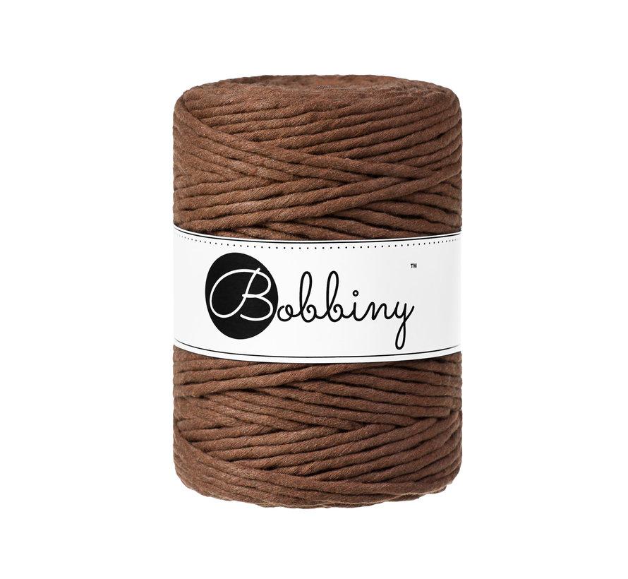 Bobbiny Macramé cord 5mm Mocha