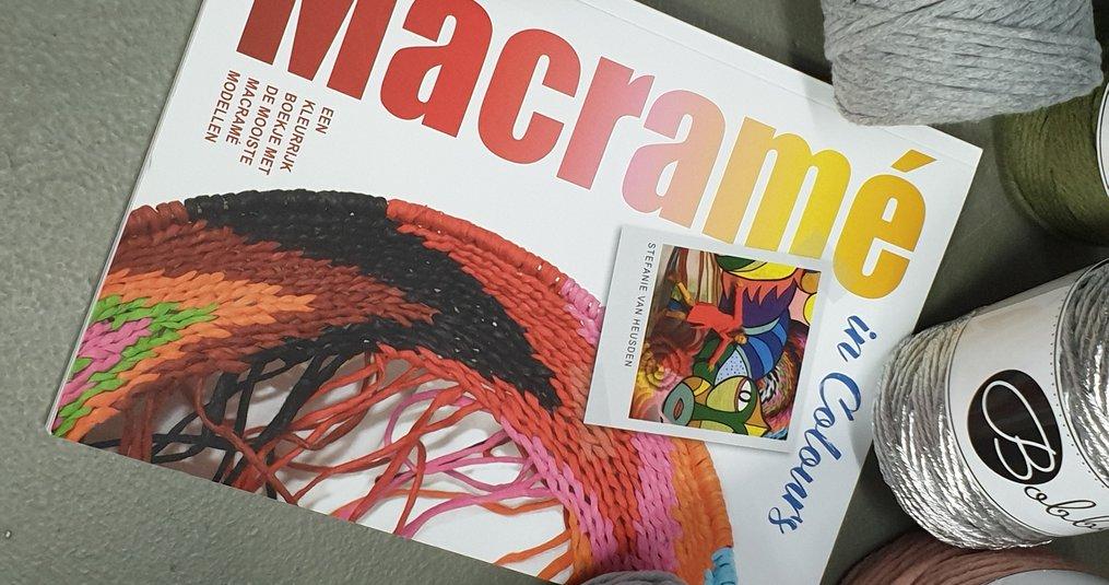 Macramé in colours - Stefanie van Heusden | Marlaine's boek reviews