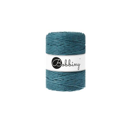 Bobbiny Bobbiny Macrame cord 5mm Peacock blue