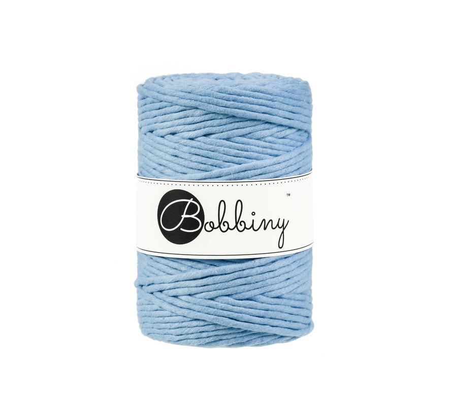 Bobbiny Macrame cord 5mm Baby blue