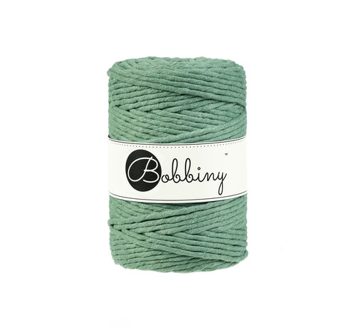 Bobbiny Bobbiny Macramé cord 5mm Eucalyptus Green