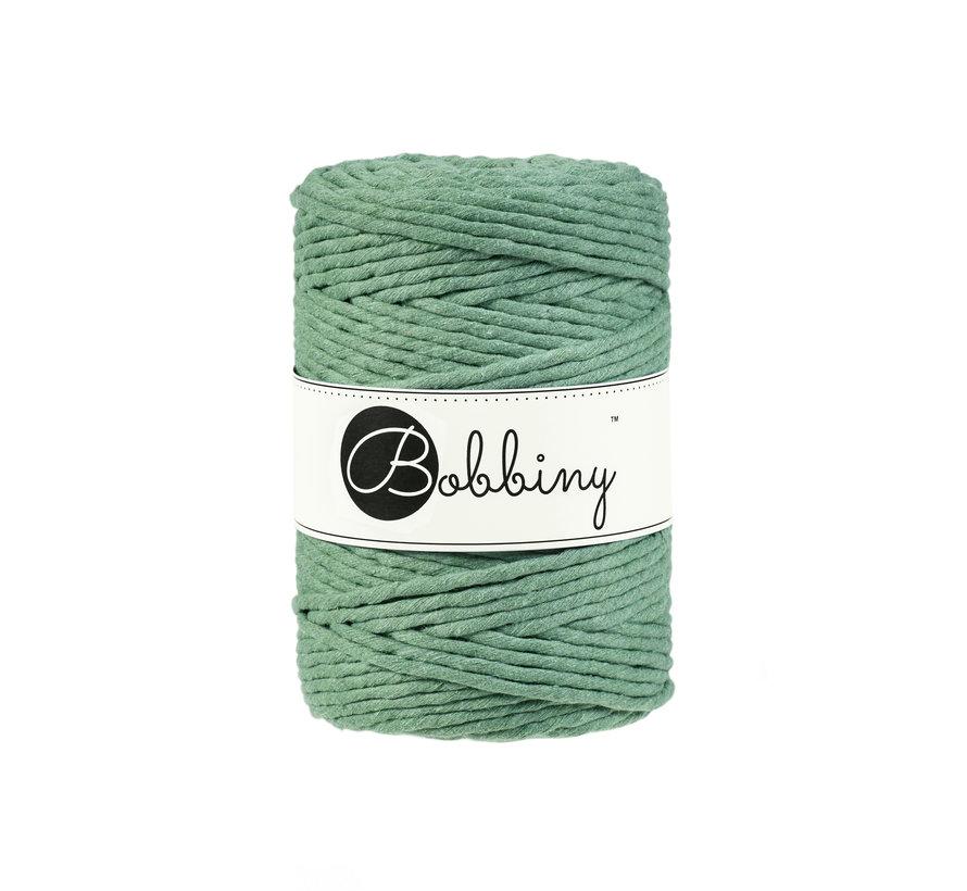 Bobbiny Macramé cord 5mm Eucalyptus Green