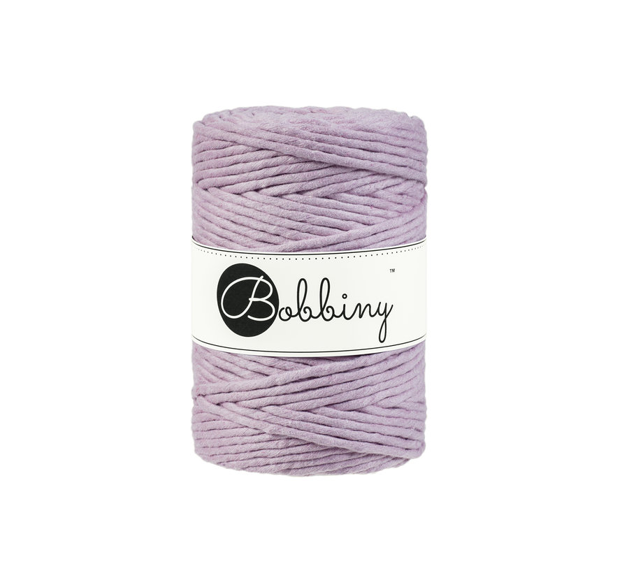 Bobbiny Macrame cord 5mm Dusty pink