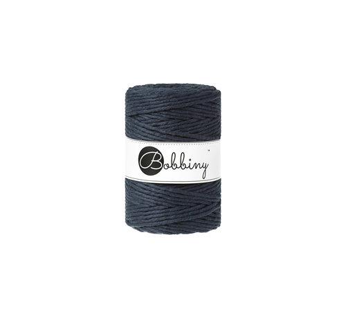 Bobbiny Bobbiny Macrame cord 5mm Navy Blue
