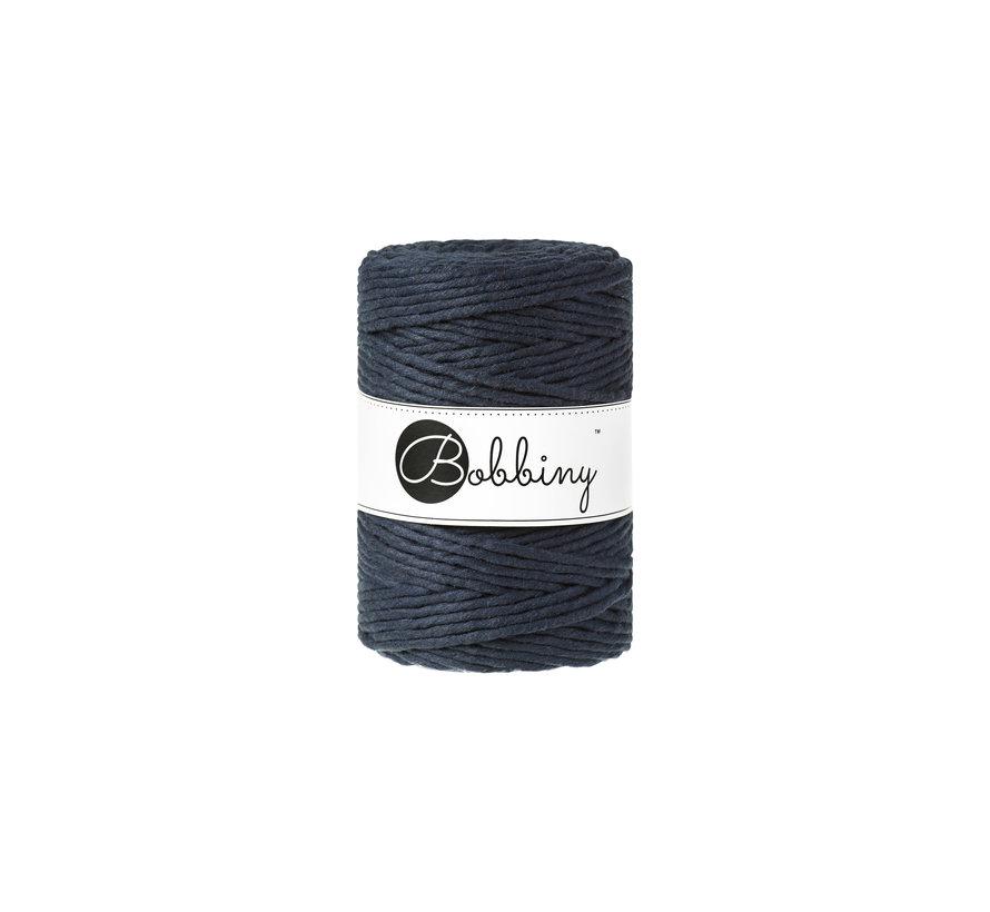 Bobbiny Macrame cord 5mm Navy Blue