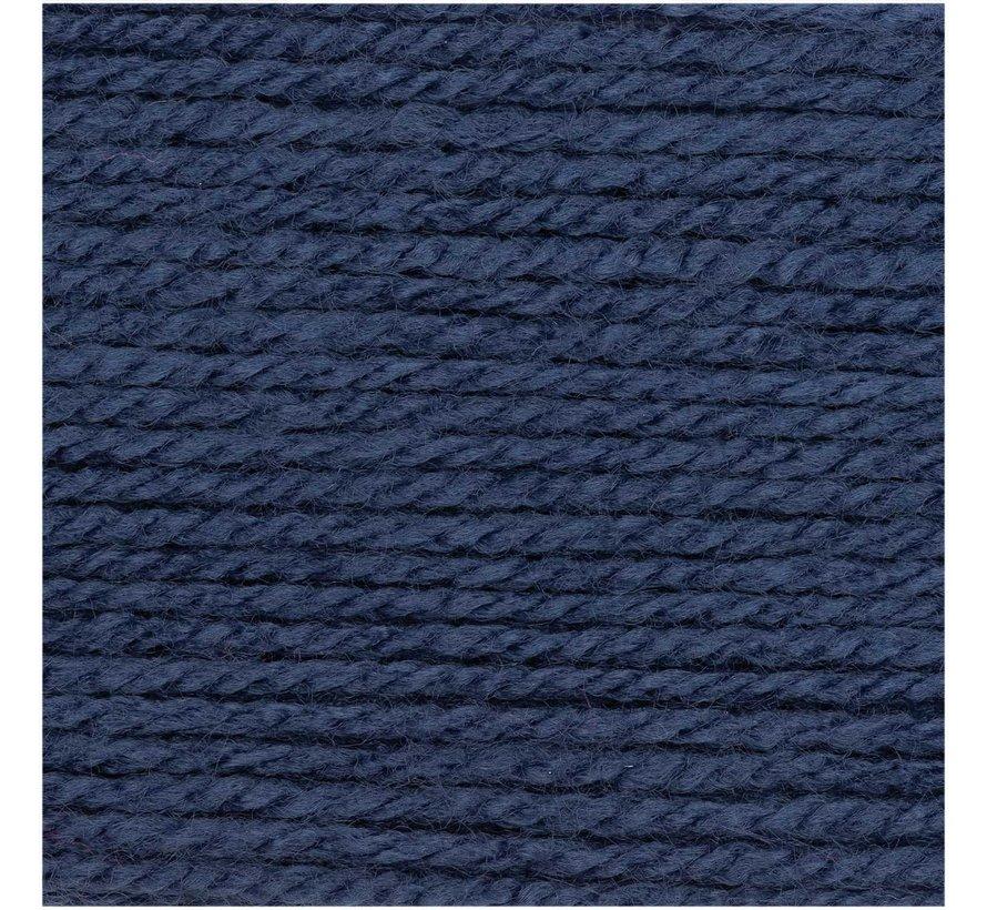 Basic Soft Acryl DK 019 Mittelblau