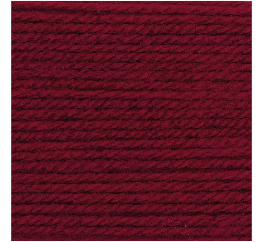 Basic Soft Acryl DK 008 Dunkelrot