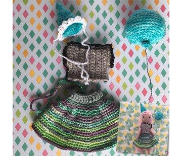 Amilishly Haakpatroon Verjaardag outfit elsa - Amilishly